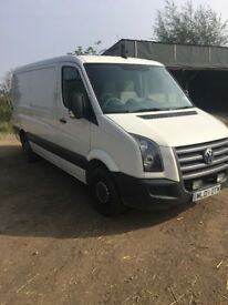 VW crafter for sale, ready to work, recently had new turbo around 2000 miles ago.