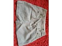 Zara kids shorts s grey women's