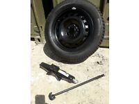 """Brand new Ford Tourneo Connect spare wheel 16"""" with genuine Ford scissor jack. 205/60/R16"""