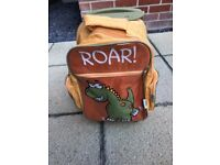 Children's dinosaur rucksack/small luggage