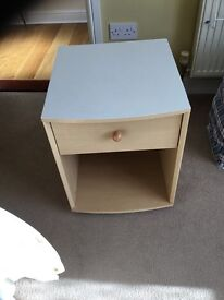 Bedside Table with One Draw