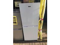FRIDGEMASTER FRIDGE FREEZER WHITE RECONDITIONED