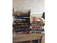 Andy mcnab and chris ryan books