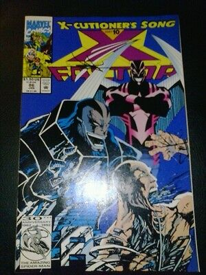 x-factor 86 signed by jae lee COA age of apocalypse x-men collectible movie