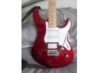 Yamaha Pacifica 112VM - Metallic Red - Strat style body (New Condition)