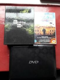 Portable DVD Player with 2 DVD's