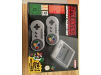 SNES MINI Console with 20 built in games - Urgent Sale