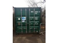 £1000. 20ft x 8ft metal container. Excellent condition completely watertight, school storage.