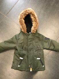 Boys 9-12m boys coat