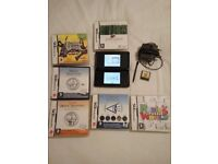 DS Lite with games