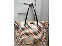 Kate Spade Multi-Color Striped Diaper Bag