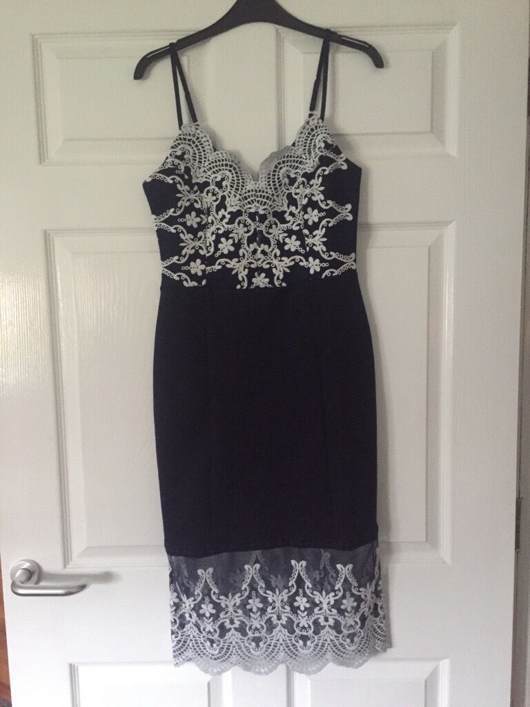 Navy &a white lace Michelle Keegan Lipsy dress size 10in Norwich, NorfolkGumtree - BNWT Never been worn Selling due to being a gift that never fit RRP £100