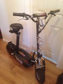 Mach 1 electric scooter REDUCED PRICE FOR QUICK SALE £210