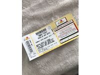 V FESTIVAL TICKET SUNDAY 20TH AUGUST 2017