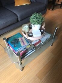 Glass Coffee Table perfect for the living room