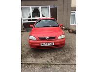 Vauxhall Astra sxi 1.6 2002