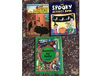 Spooky Hallowe'en books