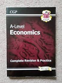 AS/A2-Level Economics: Year 1 & 2 Complete Revision & Practice By GCP Books - RRP £15