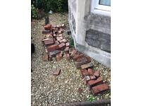 FREE Broken bricks, some almost whole.