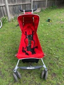 MICRALITE stroller buggy pram + extra - travel bag, mesh, rain cover