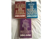 Jeffery archer books