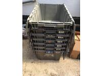 House removal crates large heavy duty x 7