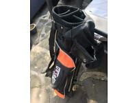 Junior Golf club bag.