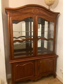 Hard Cherry Wood Cabinet