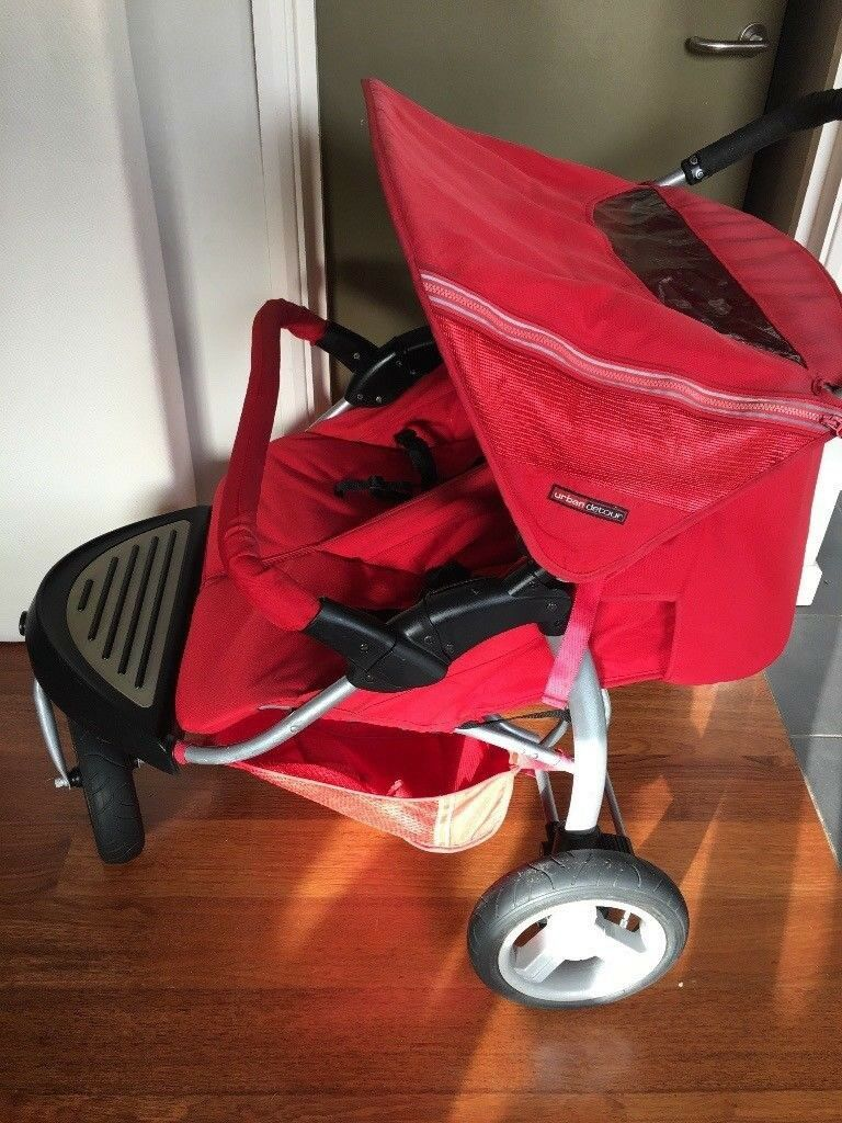 Mothercare Urban Detour Double/Twin Pushchair + Raincover