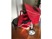 Mothercare Urban Detour Double/Twin Pushchair + Raincover