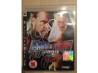 PS3 Maryse and Shelton Benjamin Autographed Signed WWE SmackDown Vs Raw 2009
