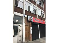 One bedroom flat top of shop close to ilford station- 1000 pcm dss accepted