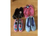 Lovely bundle of brand new Girls shoes - Size 12/13. STILL AVAILABLE