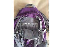 Rarely used Karrimor Urban 30 Purple Backpack 2012 model