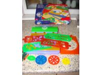 Similar to Spiroraph set. Complete, lots of stencils, disks to make lovely patterns. £4. Torquay, ca