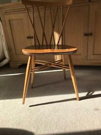 Vintage Ercol Chiltern Candlestick chair in need of restoration