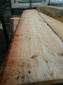 12ft larch slabs