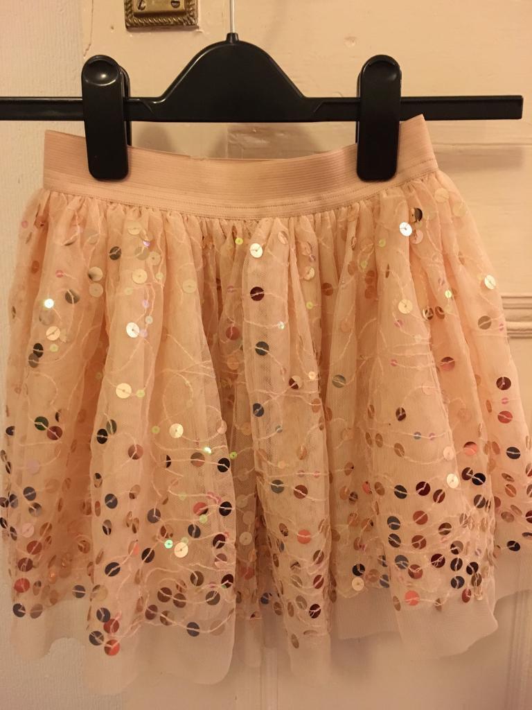 Next sequinned skirt,5-6yrs