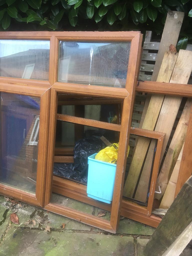 Double glazing door and 5 windows