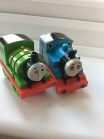 Thomas the tank engine and Percy