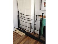 FREE king size marks and Spencer's metal bed frame (needs repair)