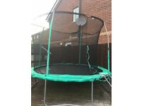 10ft Jumpking trampoline with brand new net enclosure worth £40