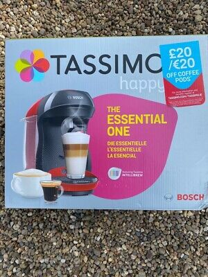 TASSIMO by Bosch Happy TAS1003GB Coffee Machine - Damaged Box