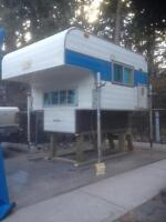 Small truck camper w/ brand new jacks $1200 *in CANMORE