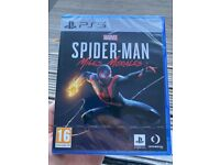 Spider-Man Miles Morales PS5 - unopened