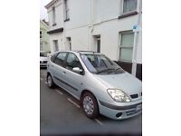 renault scenic diesel, 2001 mot december next year , good condition inside and out