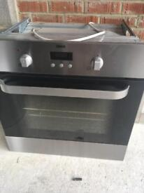 Zanussi integrated oven