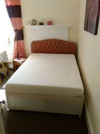 Good condition double bed for sale for own collection in WSM