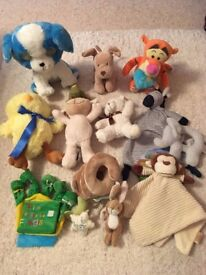 Cuddly Baby Toys
