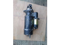 Reconditioned STARTER MOTOR for ERF- EC10 tipper lorry/truck - REDUCED TO £150